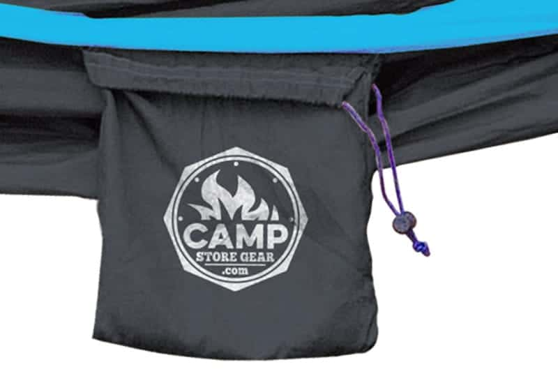 black light blue hammock